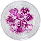 Ružové keramické ruže, 10ks