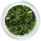 Olivovo zelené látkové kvapôčky