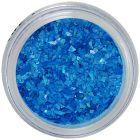 Nail art ozdoby - nepravidelné úlomky, modré