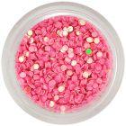 Kolieska na zdobenie nechtov - perleťovo ružové