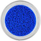 Nechtové ozdoby - perly modré, 1mm