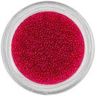 Tmavočervené perly na nechty, 0,5mm