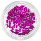 Ozdobné kamienky, obdĺžniky - cyklámenovo ružové