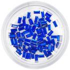 Kráľovsky modré kamienky, obdĺžniky