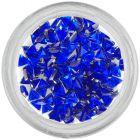 Kráľovsky modré kamienky, trojuholník