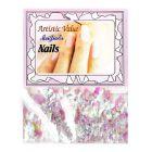 Perleťové ozdobné šupinky - nail art