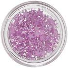 Perleťové hviezdičky na nechty - fialové