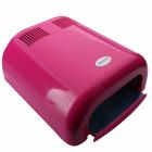 Ružová UV lampa na nechty - 36W, 120s časovač